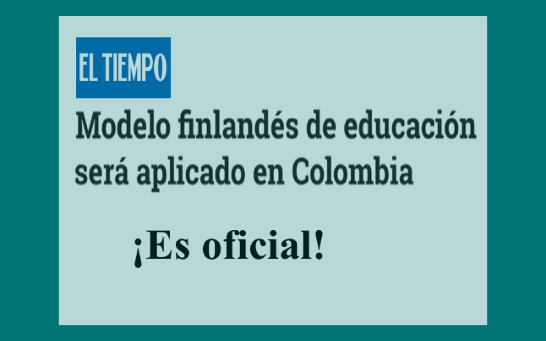 FinlandWay® Schools in the biggest newspaper in Colombia